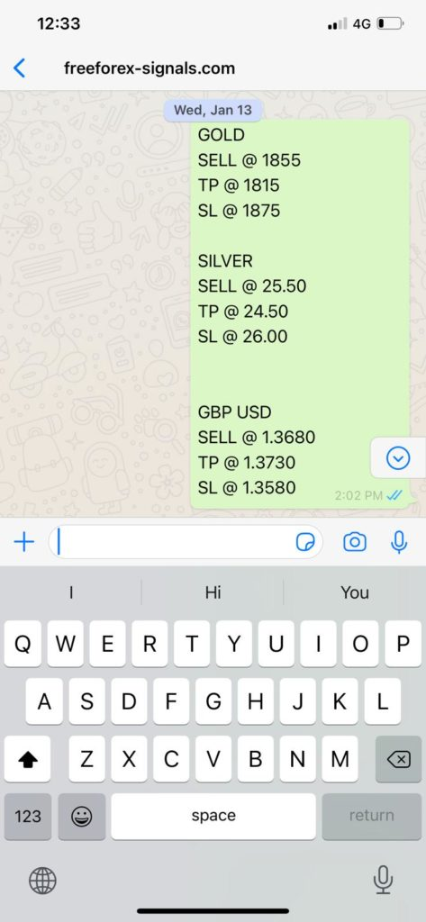 Forex Signals by SMS and Email, Daily Forex Signals